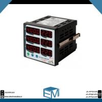 مولتی متر سه فاز ۶ نمایشگر MM3-6A